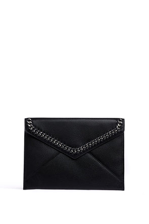 Leo Clutch with Chain Inset