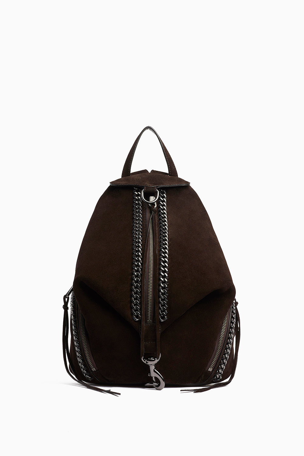 Rebecca-Minkoff Julian Backpack with Chain Inset