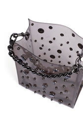 Kate Mini Tote with Crystals - Hover Image