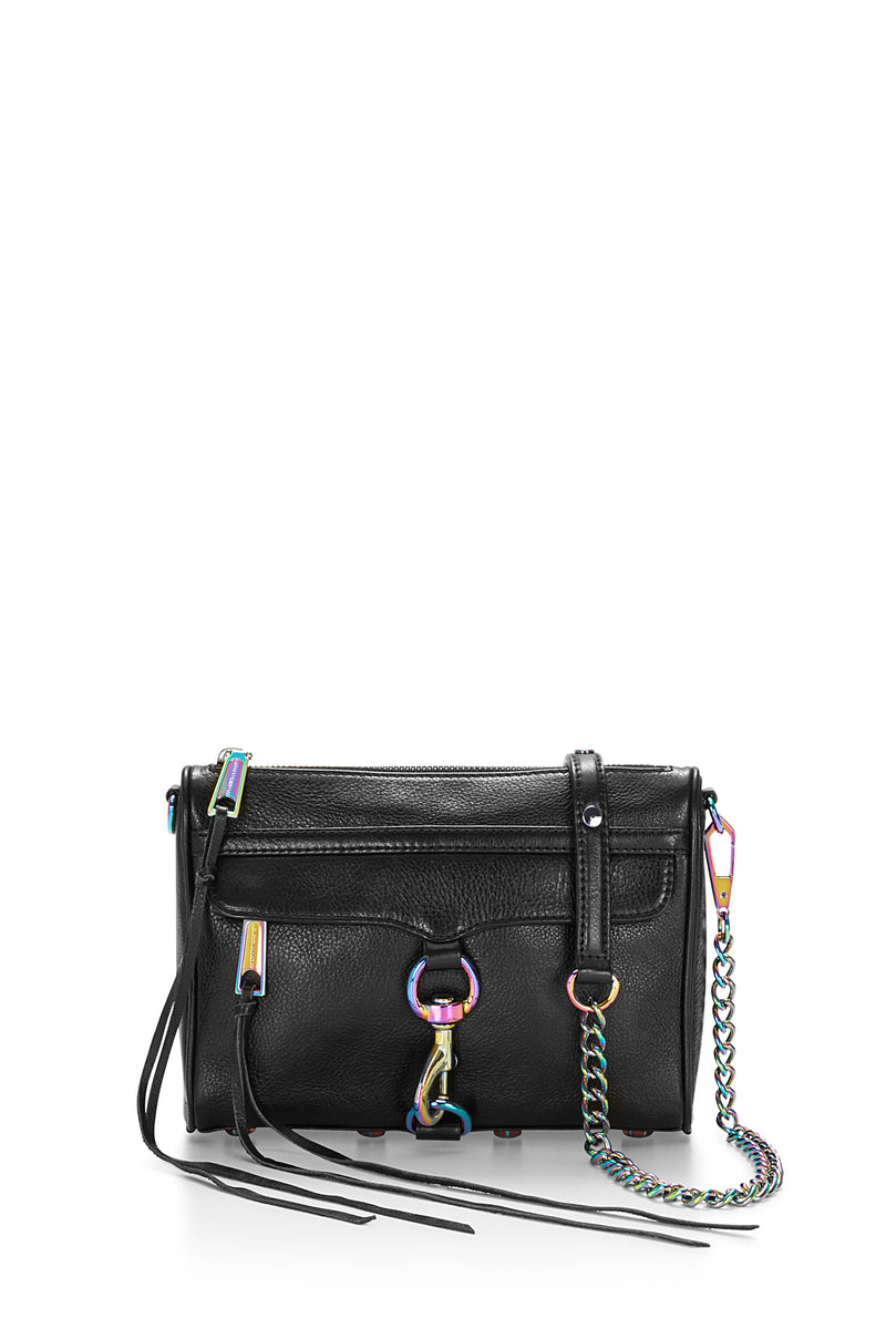 Mini M.A.C. Crossbody With Oil Slick Hardware