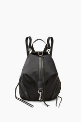 Convertible Mini Julian Nylon Backpack - Hover Image