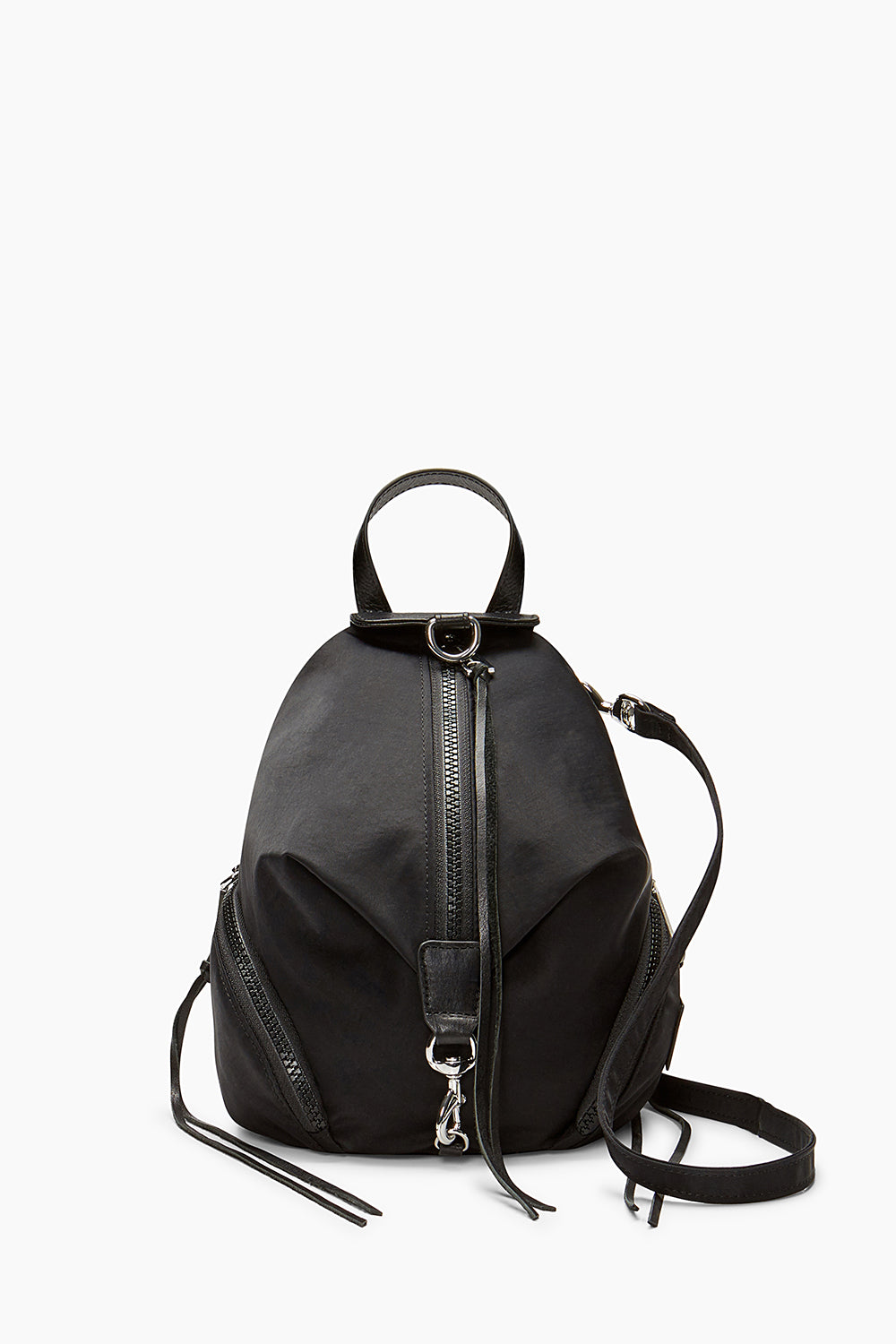 Rebecca-Minkoff Convertible Mini Julian Nylon Backpack