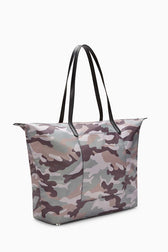 Washed Nylon Tote - Hover Image