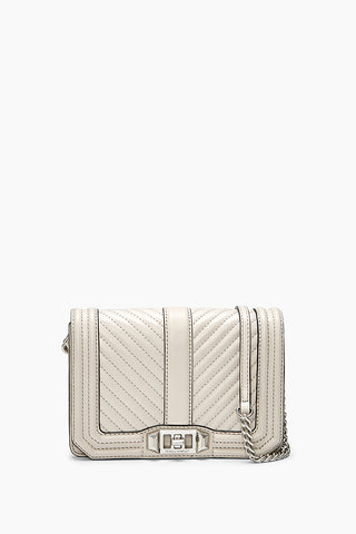 Hs18lcqx45 chevron quilted small love crossbody putty a large