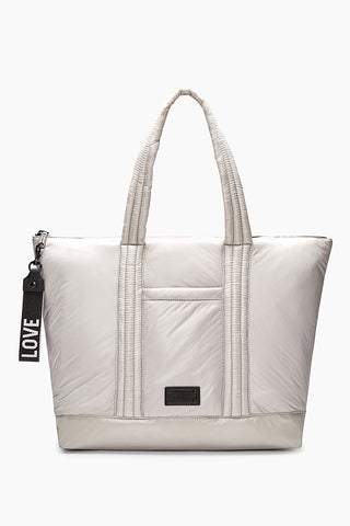 Hs18mftt06 puffy large tote putty a large