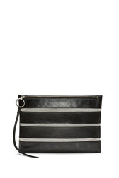 Cage Large Zip Clutch