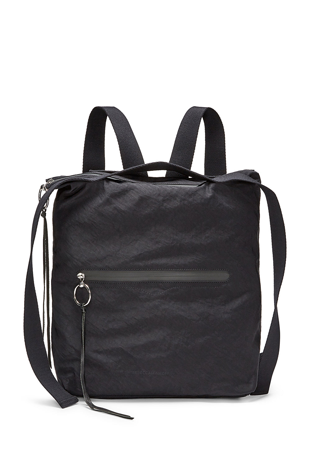 Nylon Tote Backpack
