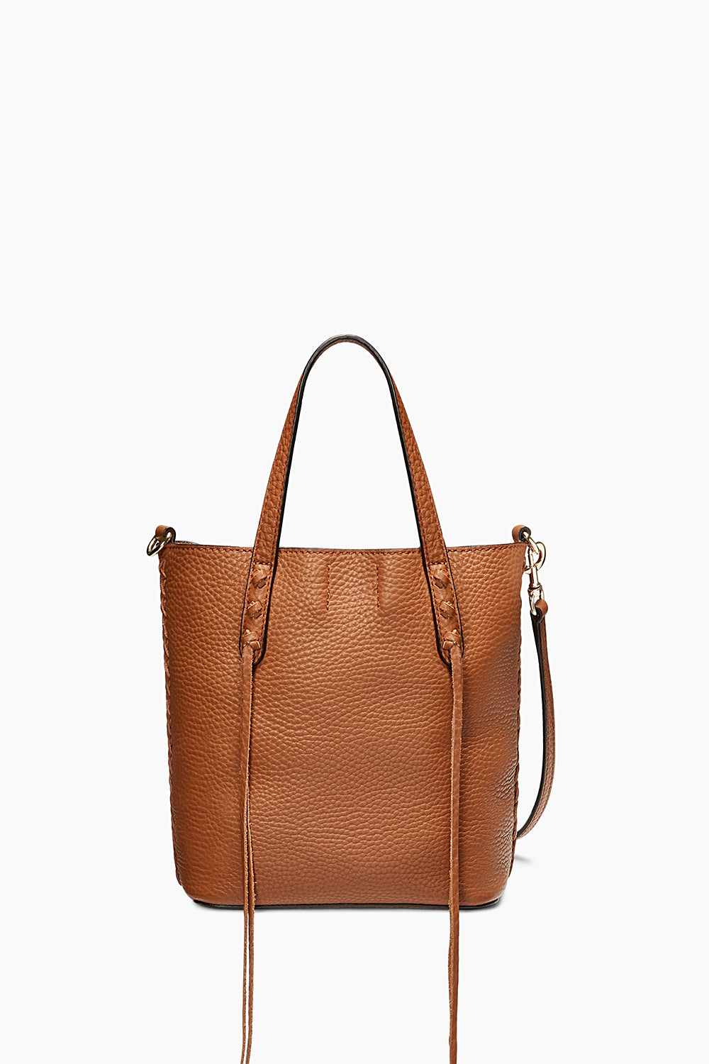 Mini Unlined Tote With Whipstitch