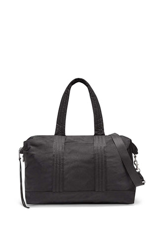 Hu18ewnw04 washed nylon weekender  black a large