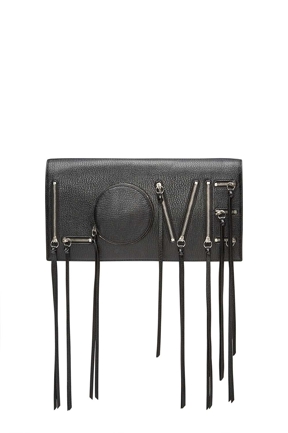 Easy Rider Love Zipper Clutch
