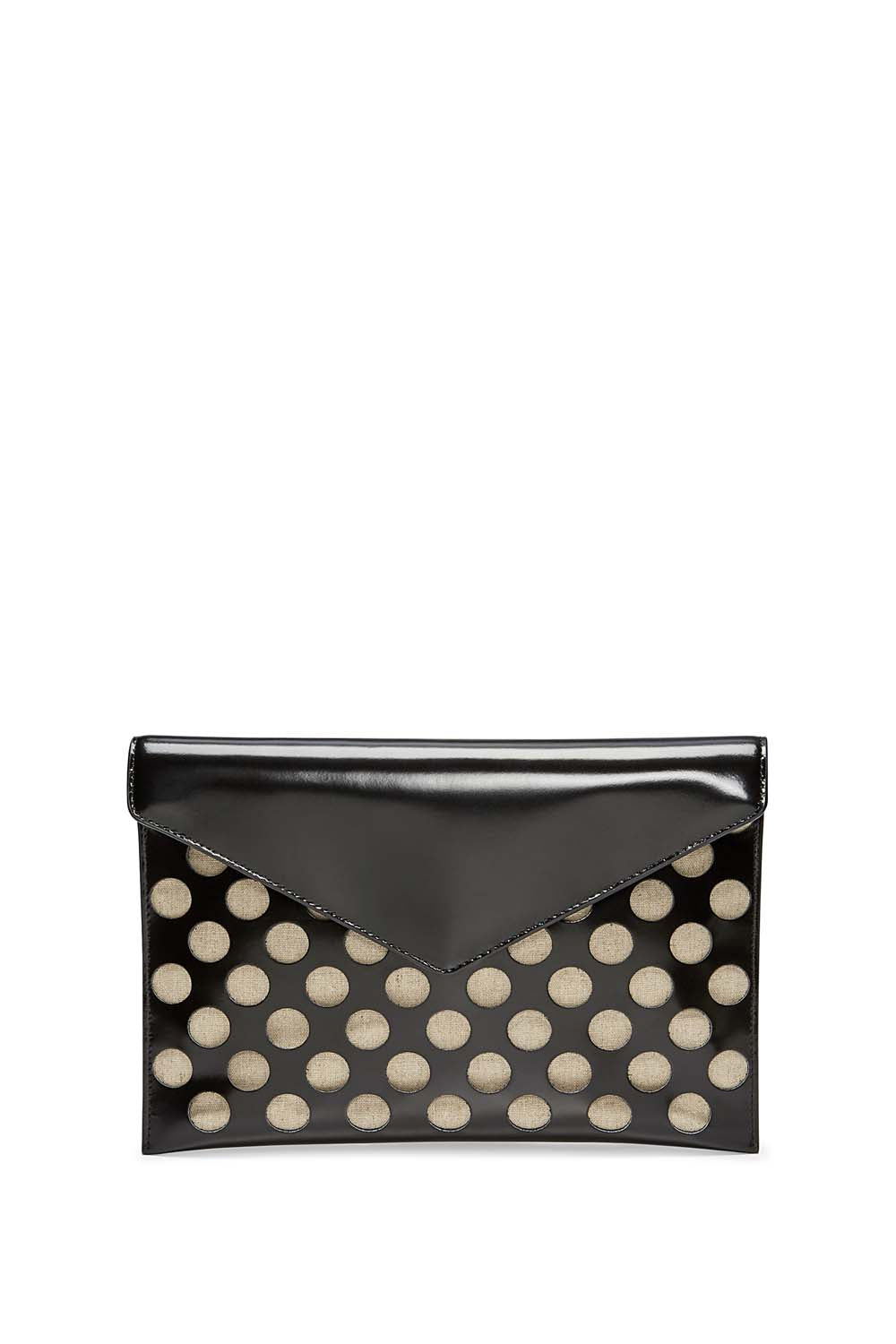 Perforated Leo Clutch