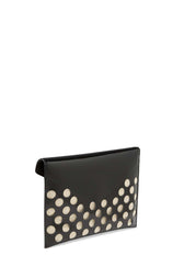 Perforated Leo Clutch - Hover Image