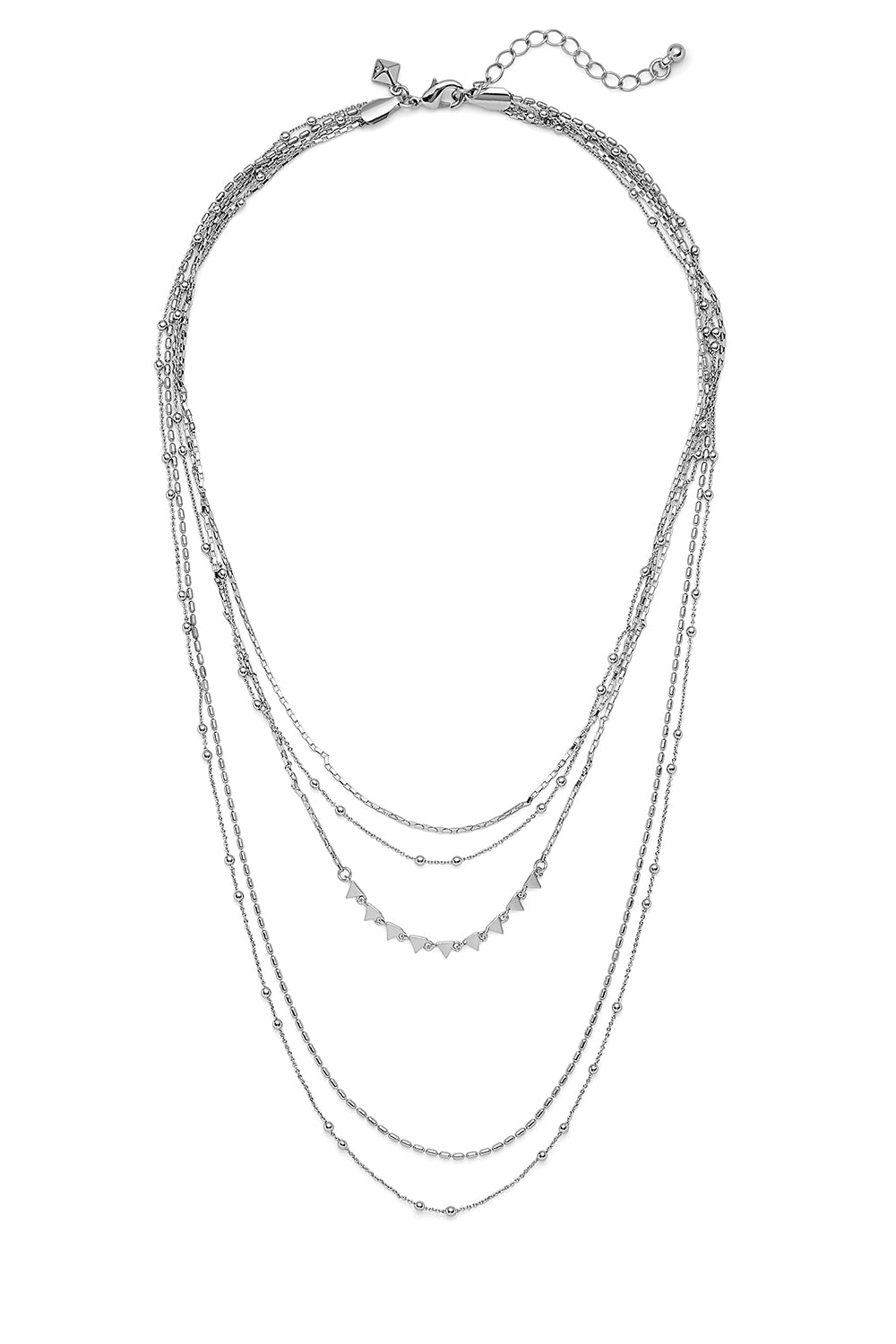 Ellie Triangle Layers Necklace