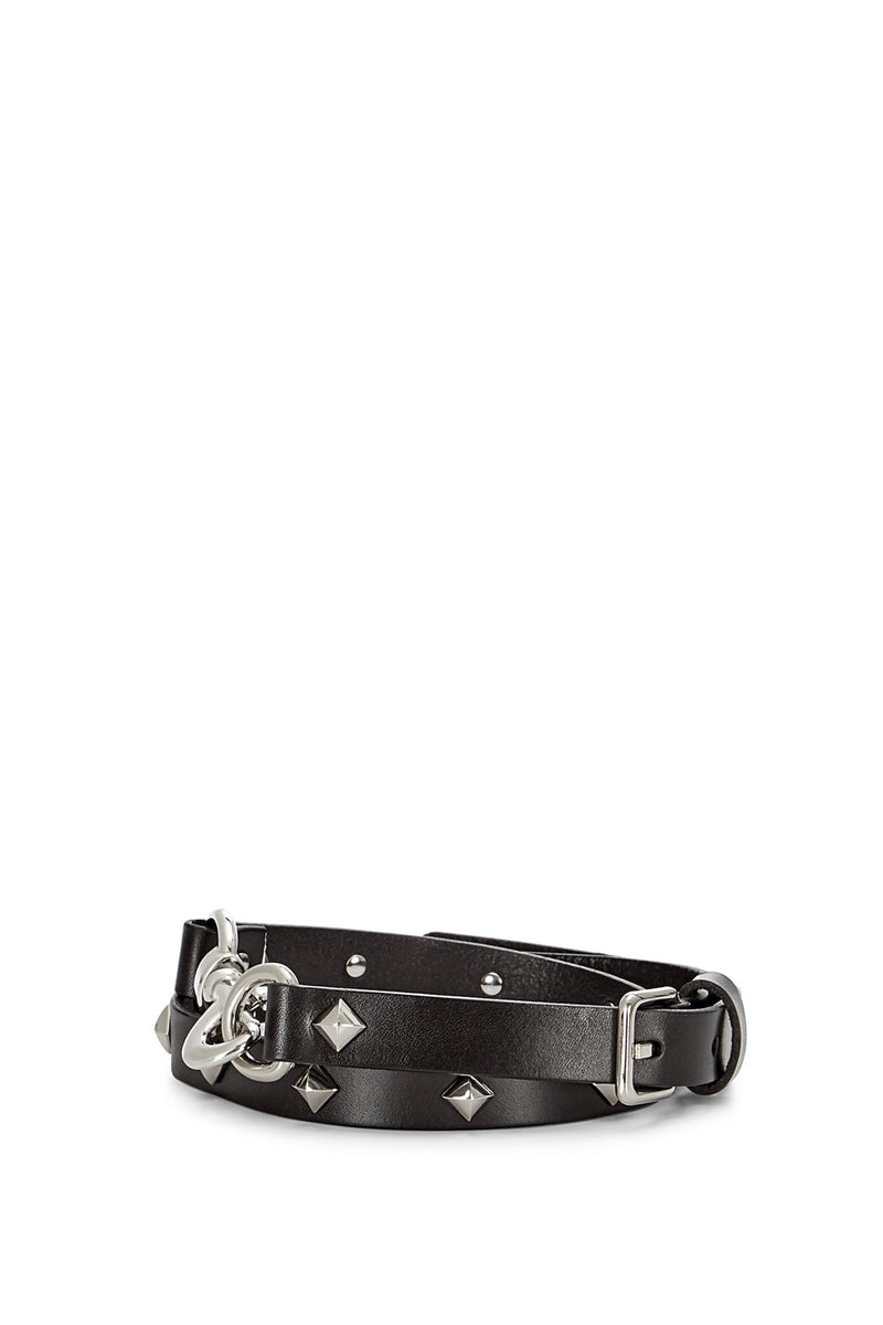 Dog Clip Studded Belt