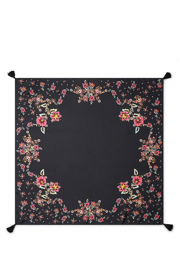 Mixed Floral Square