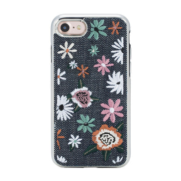 Floral Embroidery Case for iPhone 8 & iPhone 7