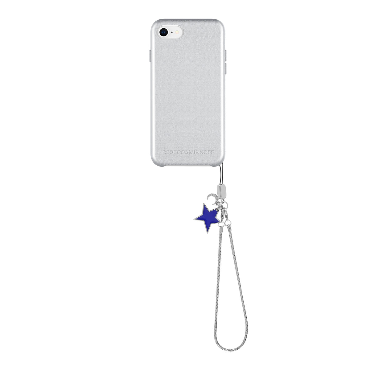 Leather Wrapped Case With Star Charm For iPhone 8 & iPhone 7