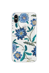 Garden Floral Print Case For iPhone XS & iPhone X