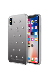 Gunmetal Pyramid Case For iPhone X
