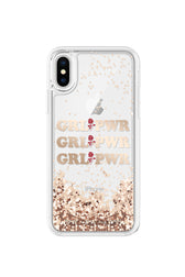 GRL PWR Glitterfall Case For iPhone XS & iPhone X