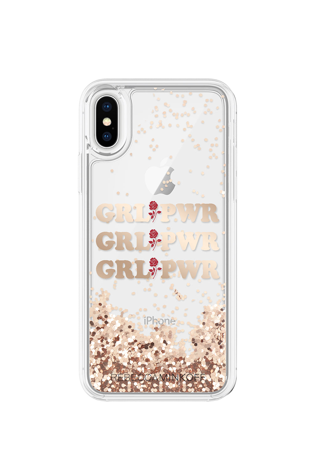 GRL PWR Glitterfall Case For iPhone X