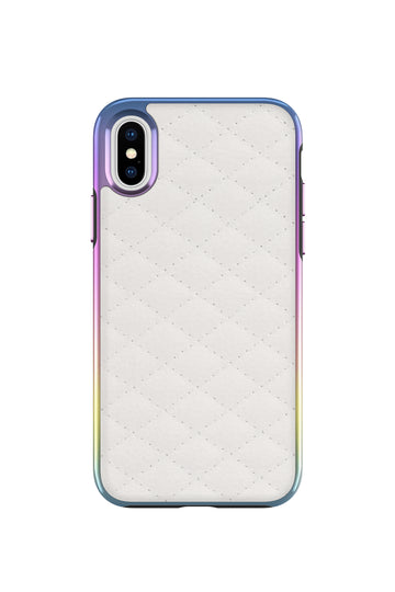 Quilted Love Case For iPhone X