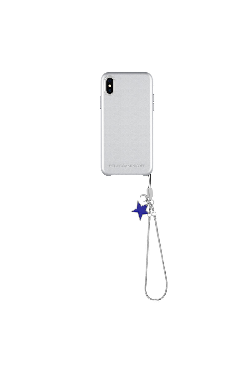 Leather Star Charm Case For iPhone X