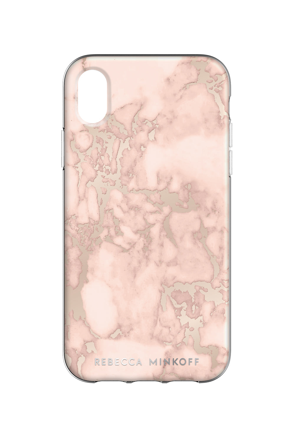 Blush Marble Case For iPhone XR