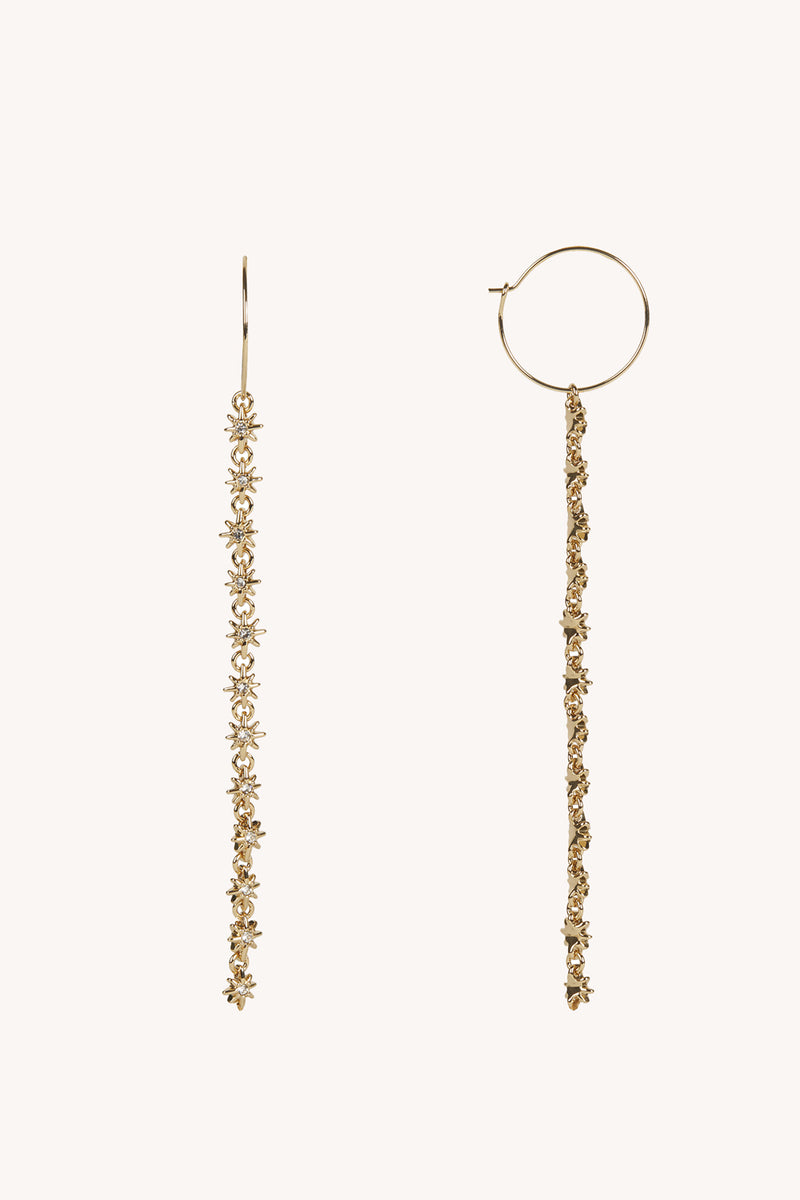 Rebecca Minkoff Star Shoulder Duster Hoop
