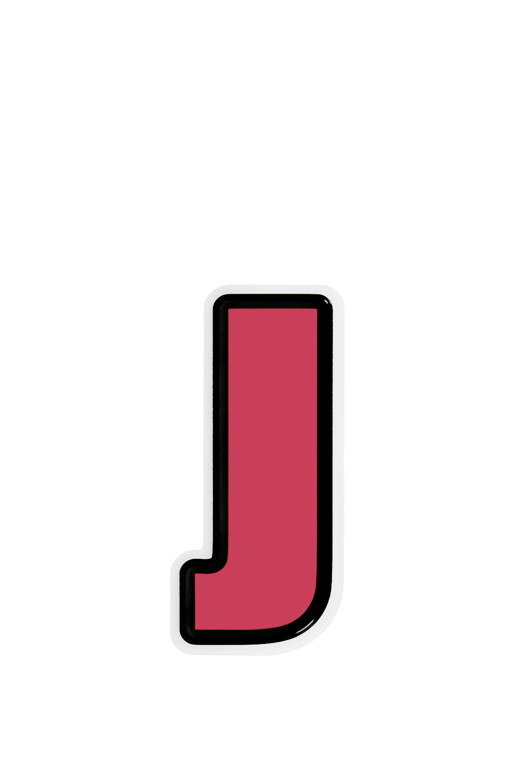 Travel Letter Sticker J