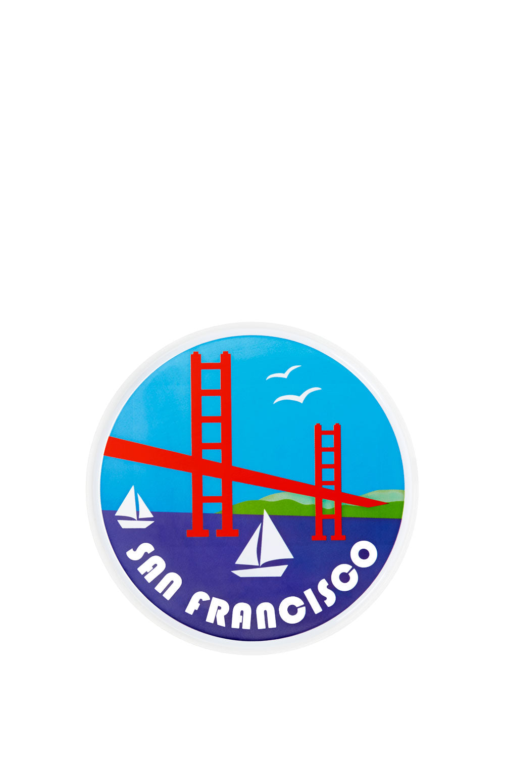 Travel Sticker San Francisco