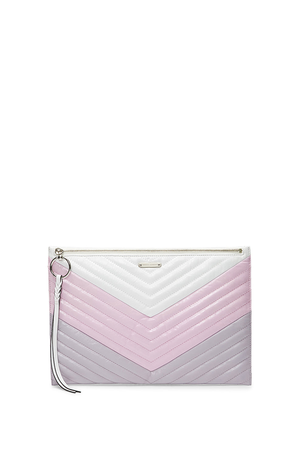 Edie Large Zip Clutch