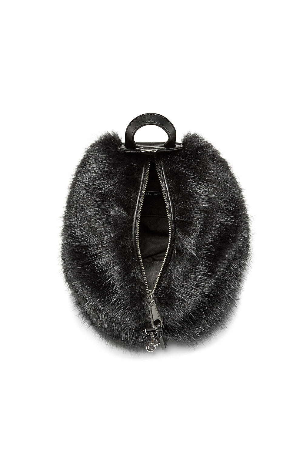 Faux Fur Convertible Mini Julian Backpack