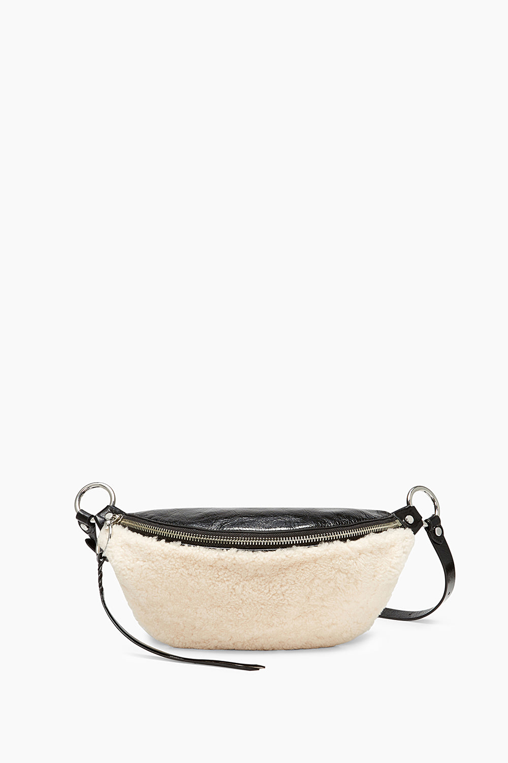 Shearling Belt Bag