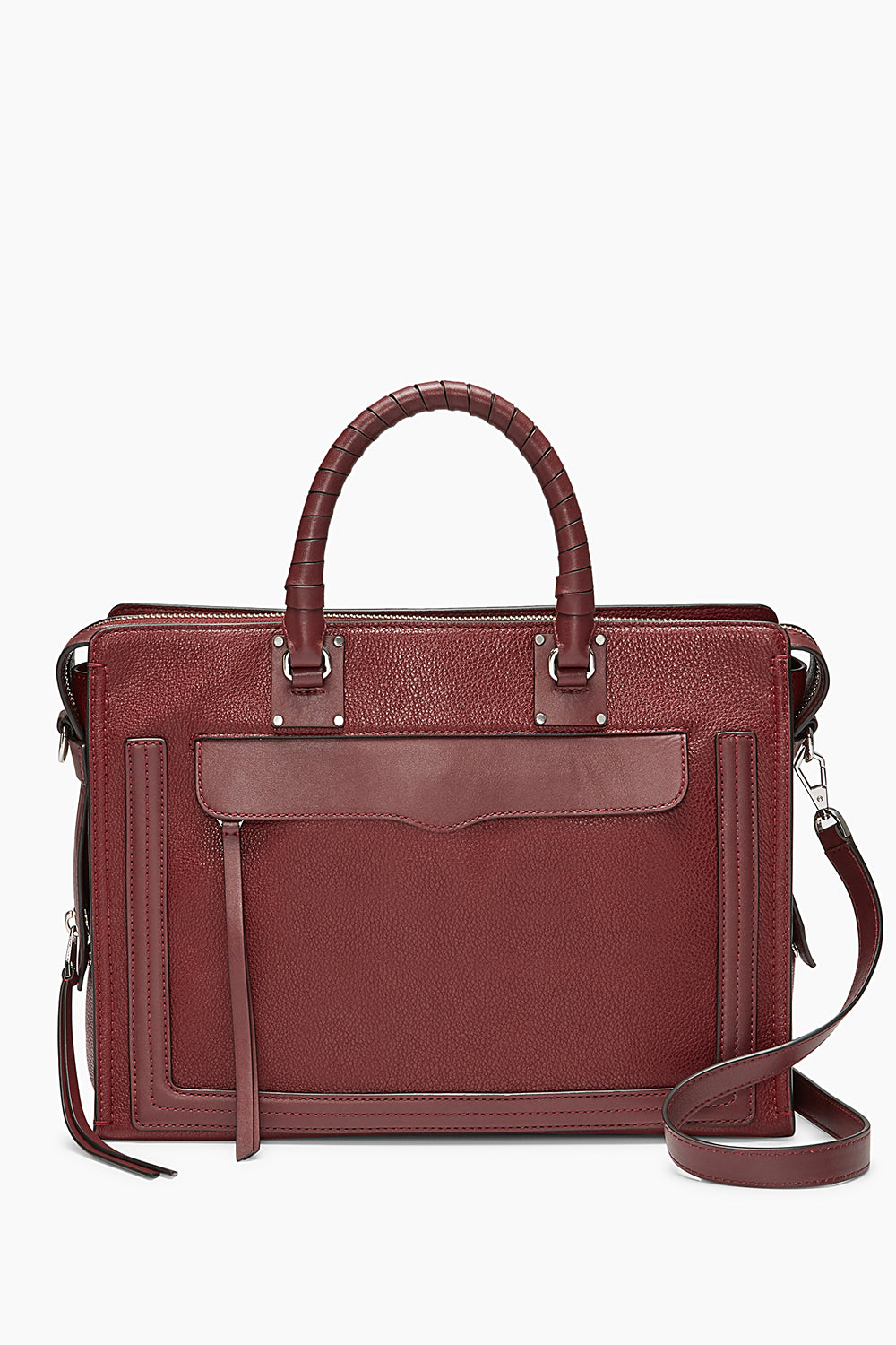 Bree Large Top Zip Satchel