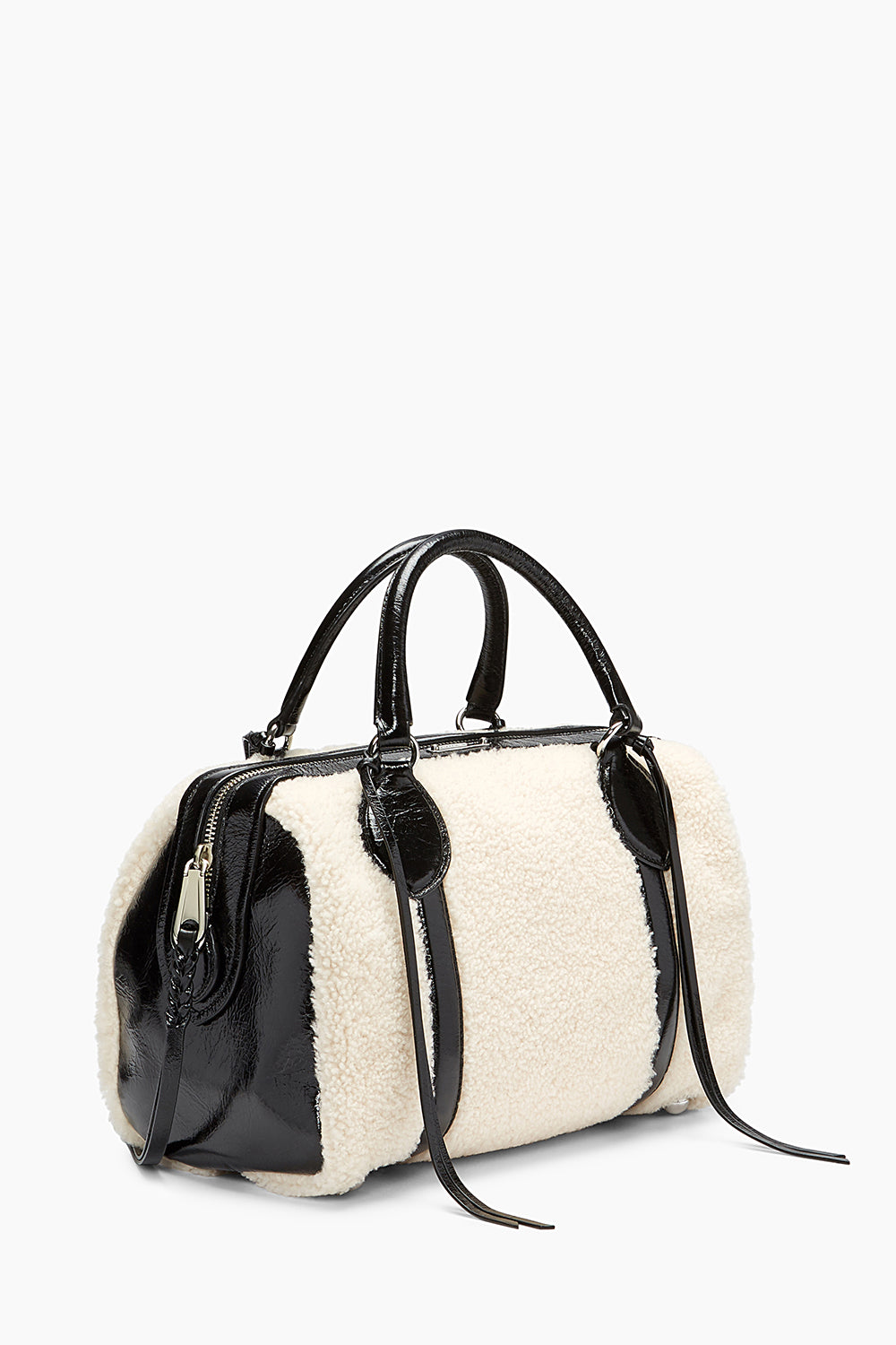 Shearling Duffle Bag