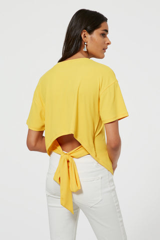 S18400508 lily knit top 700 yellow 008 0764 large