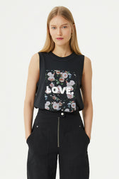 Love Roses Muscle Tee