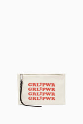 Medium Zip Pouch - GRL PWR