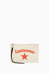 Medium Zip Pouch - Superwoman