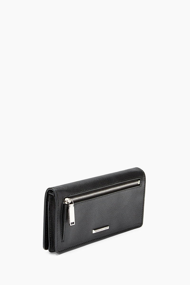 Continental Snap Wallet with Wristlet