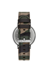Griffith Grey Ion Plated Tone Camo Strap Watch, 43MM