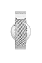 Griffith Silver Tone Mesh Bracelet Watch, 43MM - Hover Image