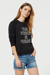 Force Is Female Sweatshirt
