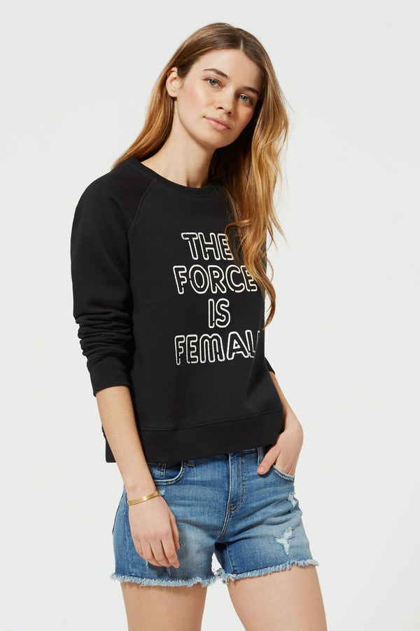 Force Is Female Sweatshirt by Rebecca Minkoff