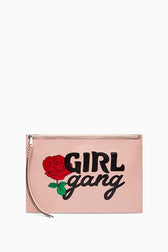 Large Zip Pouch - Girl Gang
