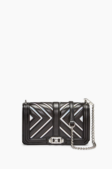 Chevron Love Crossbody