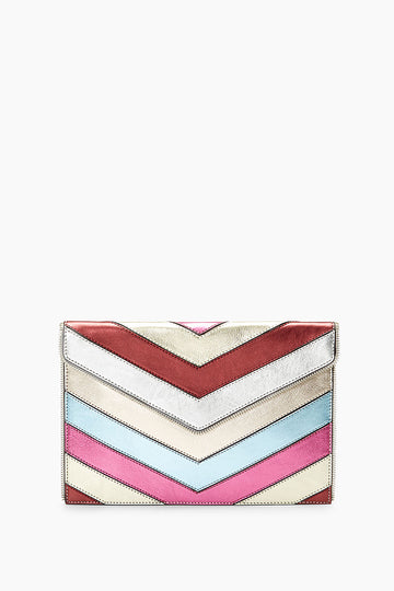 Patchwork Leo Clutch