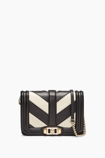 Chevron Small Love Crossbody