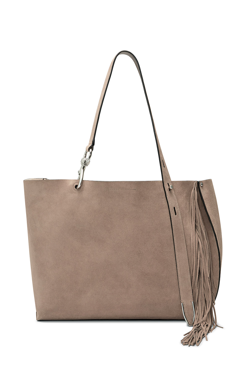 Stella Large Tote With Fringe